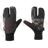 Manusi iarna Force Hot Rak 3 degete negre marime XL