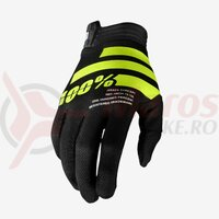 Manusi Itrack Black/Fluo Yellow Gloves