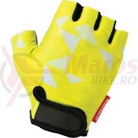 Manusi Kross Buzz yellow-white XS