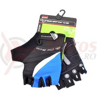 Manusi MTB BikeForce Zoom negru/albastru