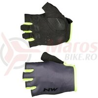 Manusi Northwave Active short fingers, Grey/YellowFluo