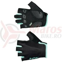 Manusi Northwave Active WMN degete scurte black/light blue