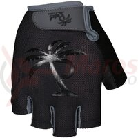 Manusi Pedal Palms Short Finger Glove stalpe black