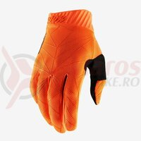 Manusi Ridefit Fluo Orange/Black Gloves