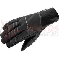 Manusi ski Salomon RS PRO WS Black/Black unisex