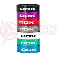 Distantier Cox Shiny rosu 10 mm