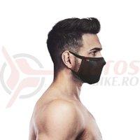 Masca pentru sportivi Naroo Mask FU+ cu reglaj neagra