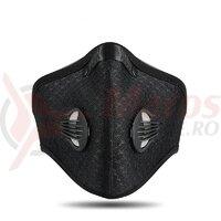 Masca ROCKBROS anti-praf + filtru, Black LF020BK