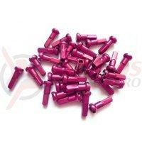 Niplu spita BTS al 14G 12mm C-N roz