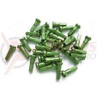 Niplu spita BTS al 14G 12mm C-N verde