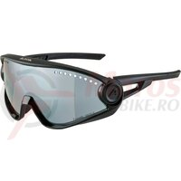 Ochelari Alpina 5W1NG CM+ frame all Black lenses Black mirrored