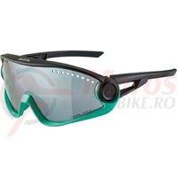 Ochelari Alpina 5W1NG CM+ frame Turquoise-Black lenses Black mirrored