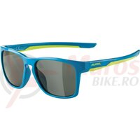 Ochelari Alpina Flexxy Cool Kids I frame Blue Lime lenses Black
