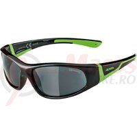Ochelari Alpina Flexxy Junior Frame black/green glass Ceramic black S3