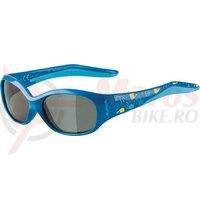 Ochelari Alpina Flexxy Kids frame blue lenses black