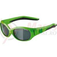 Ochelari Alpina Flexxy Kids frame green dinosaur glass black mirr.S3