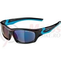 Ochelari Alpina Flexxy Teen Frame black/cyan Glass blue mirrored.S3
