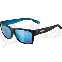 Ochelari Alpina Kacey Black matt/Blue, glass Blue mirrored S3
