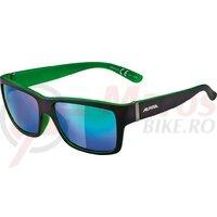 Ochelari Alpina Kacey Black matt/Green, glass Green mirrored S3