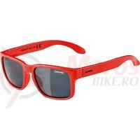 Ochelari Alpina Mitzo frame red lenses black mirrored S3