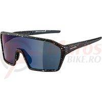 Ochelari Alpina Ram HM+ frame black blur matt lenses blue mirrored