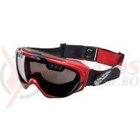 Ochelari de protectie IXS Combat Pathfinder red-black