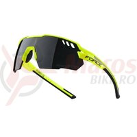 Ochelari Force Amoledo, fluo-gri, lentila negru laser