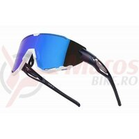 Ochelari Force Creed albastru/alb, lentila revo albastra