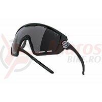 Ochelari Force Ombro Plus negru mat, lentila neagra