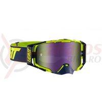 Ochelari Leatt Goggle Velocity 6.5 Iriz Ink/Lime Purple 30%