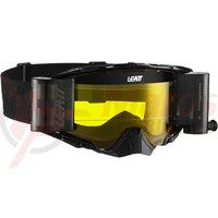 Ochelari Leatt Goggle Velocity 6.5 Roll-Off Black/Grey Yellow 70%