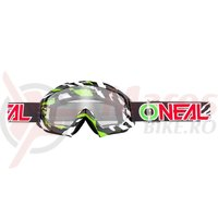 Ochelari O'Neal B-10 Stram negru/verde
