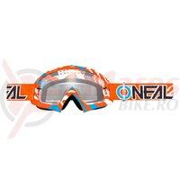 Ochelari O'Neal B-10 Stram portocaliu/albastru