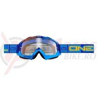 Ochelari O'Neal B-Flex ETR albastru/portocaliu transparent