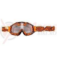 Ochelari O'neal B-Flex HENDRIX negru/portocaliu transparent