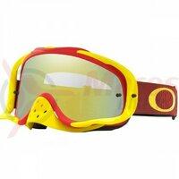 Ochelari Oakley Crowbar Mx Shockwave Red Yellow 24k Iridium & Clear Lens