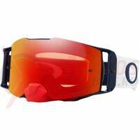 Ochelari Oakley Front Line Mx Red White Blue Prizm Torch Iridium Lens