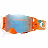 Ochelari Oakley Front Line Mx Tld Signature Metric Red Orange Prizm Sapphire Lens