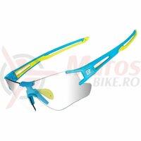 Ochelari ROCKBROS frameless, photochromic UV400, albastru-verde