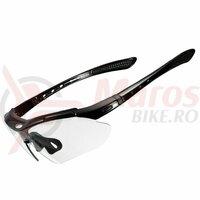 Ochelari ROCKBROS frameless, photochromic UV400, negru
