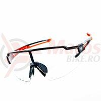 Ochelari ROCKBROS Photochromatic, unisex, UV400 Protection, rosu