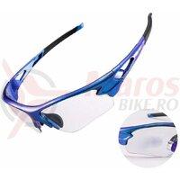 Ochelari ROCKBROS photochromic protectie UB400, albastru