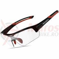 Ochelari ROCKBROS protectie UV400, negru-rosu