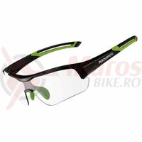 Ochelari ROCKBROS protectie UV400, negru-verde