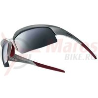 Ochelari Shimano CE-S51R frame lightning silver/red lences smoke silver mirror/clear/orange
