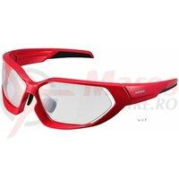 Ochelari Shimano CE-S51XPH frame red/black lences photochromic clear hydrophobic anti fog/yellow hydrophobic anti fog (17)