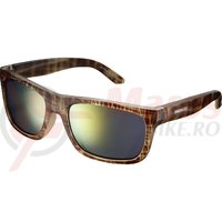 Ochelari Shimano CE-TKYO1 Rama Brown Tortoise Lentile Smoke Orange Mirror