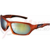 Ochelari Shimano s41x frame mat metallic org lenses smoke org mirror