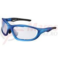 Ochelari Shimano S60X-PH mat metallic blue/black lentile photochromic clear