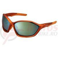 Ochelari Shimano S71X-PL frame mat metallic orange lenses polarized gy org mirror